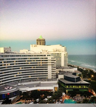 Fontainebleau Miami Beach: Stunning view from Sorrento