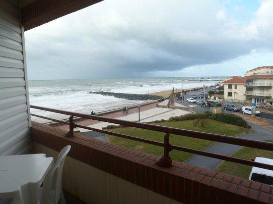 Baya Hotel & Spa : Le balcon avec vue sur la mer