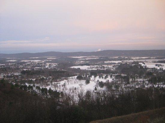 Hampton Inn Hazleton: The view!