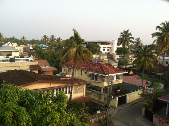 Adams Wood House : Rooftop View Of The Neighborhood