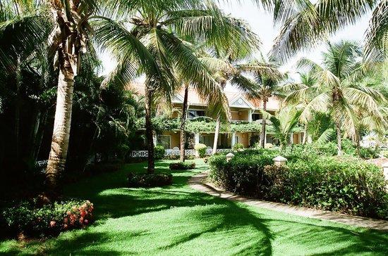 Coco Reef Tobago: Hotel gardens