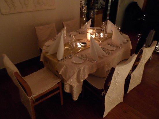 Salitre: Unser Tisch