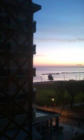 Vittoria Hotel Pesaro: Vista dalla camera