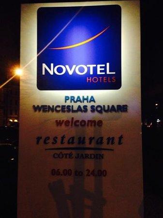 Novotel Praha Wenceslas Square : novotel