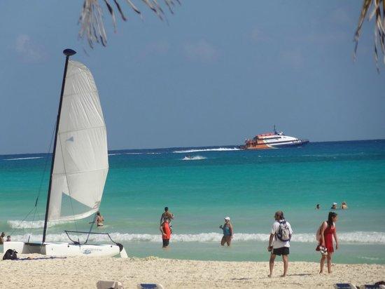 Hotel Riu Palace Riviera Maya : The beach