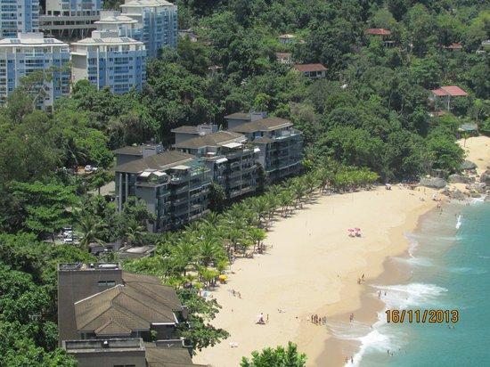 Hotel Porto Real: A praia e o condomínio