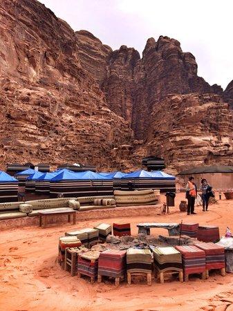 Rahayeb Desert Camp: Camp view