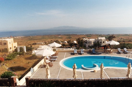 Anemoessa Villa: View from hotel terrace