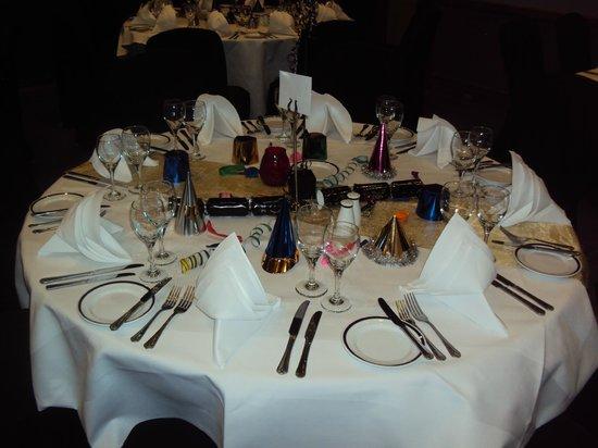 Grange Bracknell Hotel: New Year's Eve Tables
