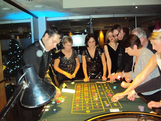 Grange Bracknell Hotel: Fun in the Casino