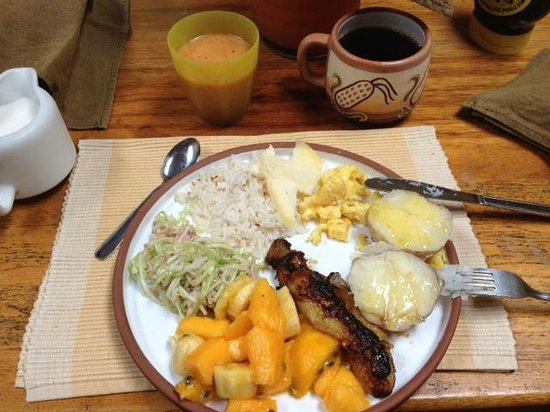 Yellow River: Breakfast Day 1