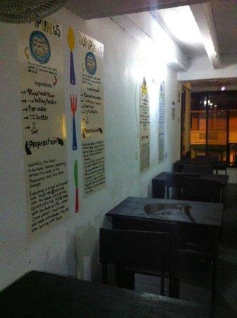 El Viajero San Andres Hostel & Suites: Cozinha do hostel