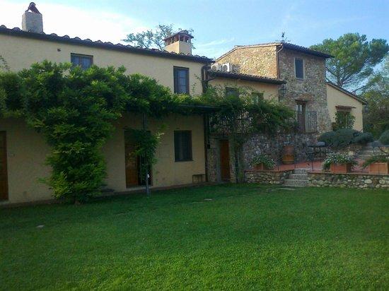Relais Poggio Borgoni : Foto del casale