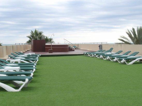 Hotel RH Casablanca & Suites: Azotea con jacuzzis
