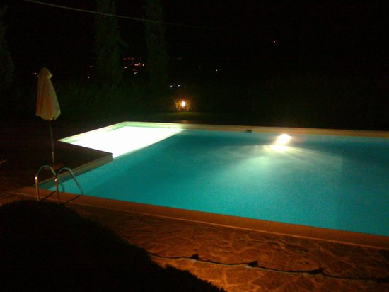 Relais Poggio Borgoni: Piscina con idromassaggio