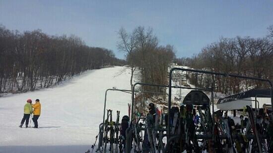 Devils Head Resort: great slopes