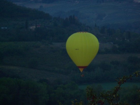 Relais Poggio Borgoni: Panorama visto dal terrazzo