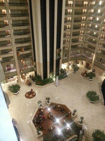 Renaissance Atlanta Waverly Hotel & Convention Center: Hotel view from Balcony