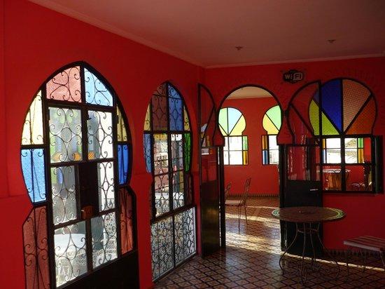 Hotel Continental: Cafetería