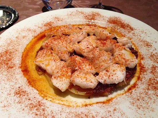 La Tarteria : Bacalao con patatas y cebolla