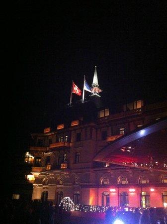 The Dolder Grand : le soir du 31