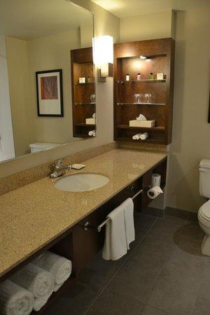 Delta Saguenay Hotel : Il bagno