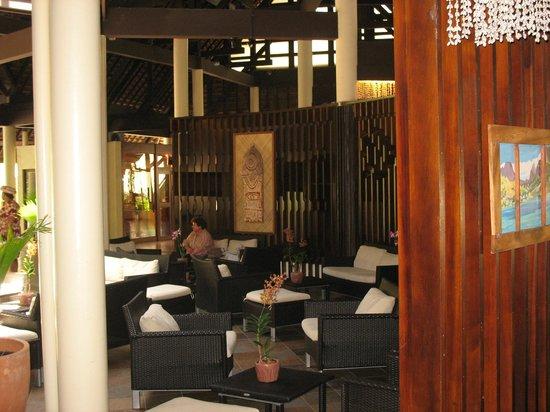 InterContinental Moorea Resort & Spa: Dans le hall de l'hôtel