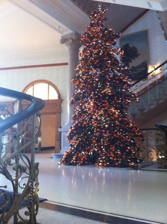 The Dolder Grand : le sapin de noel