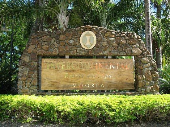 InterContinental Moorea Resort & Spa: A titre indicatif