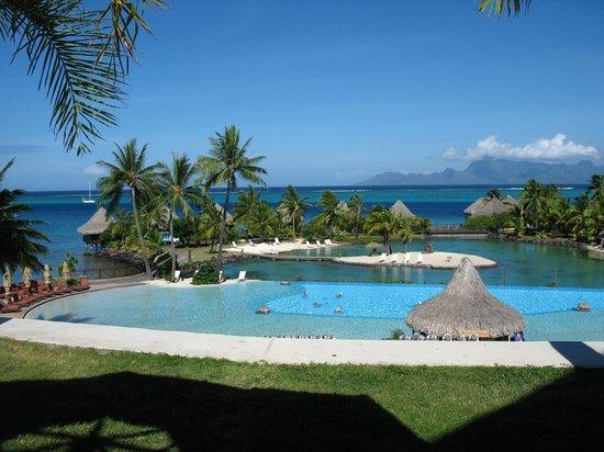InterContinental Moorea Resort & Spa: vue sur le Pacifique