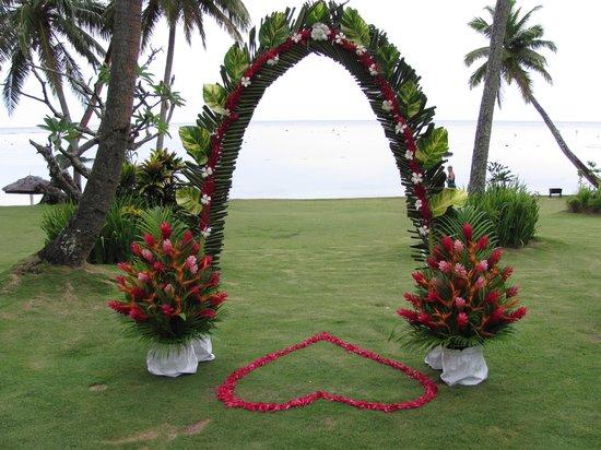The Warwick Fiji : Ready for the wedding