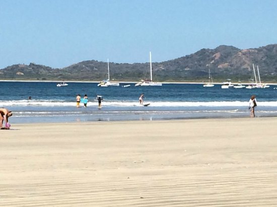Tamarindo Surf School: Coming in to shore