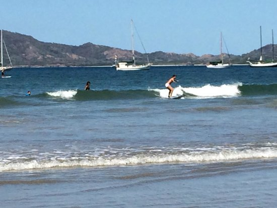 Tamarindo Surf School: Finally getting the hang of it