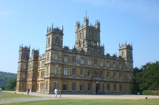 Highclere Castle: Grand gothic style