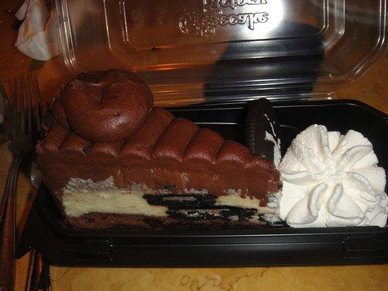 The Cheesecake Factory: Oreo Cheesecake