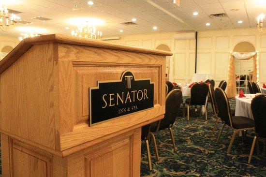 Senator Inn & Spa : Banquet Room