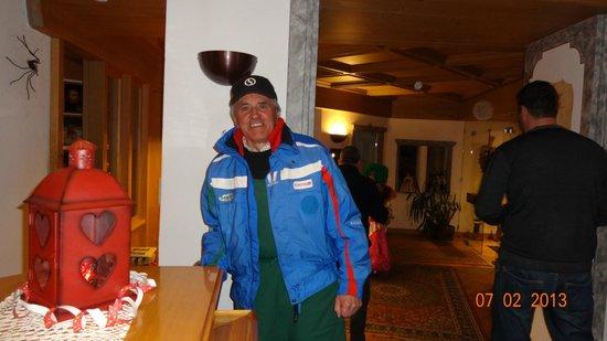 Hotel Ciampian: il mitico maestro Giovanni, padre fondatore del Ciampian, saprà darvi sempre la dritta giusta