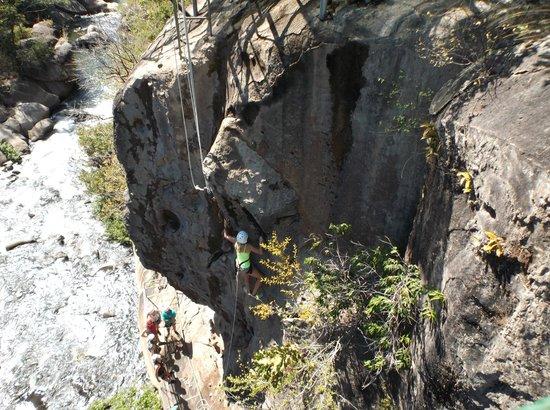 Go Adventures Traveling Costa Rica: Rock Climbing