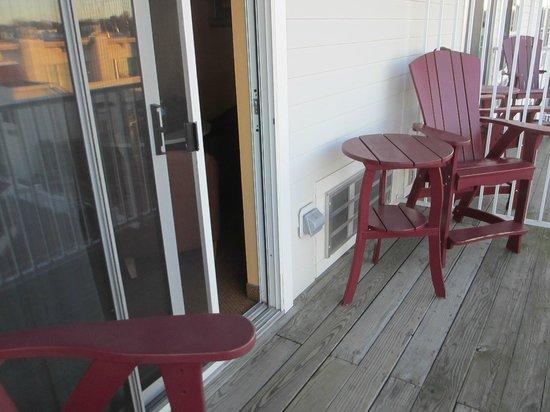 Chesapeake Beach Resort and Spa : Balcony.
