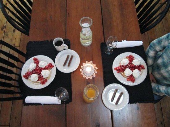 Cottonwood Inn: Breakfast was great!