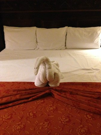 Hotel Riu Palace Cabo San Lucas : Extra touch from the cleaning staff