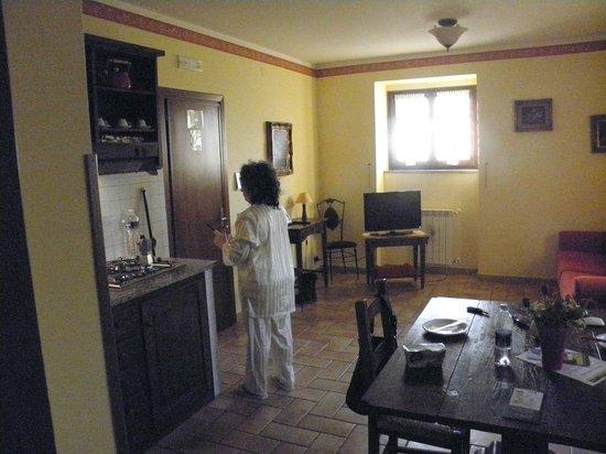 Casale Favilluta : Soggiorno