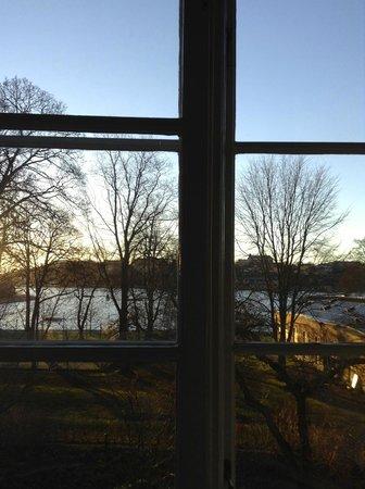 Hotel Skeppsholmen : Aussicht im Winter / 2.OG