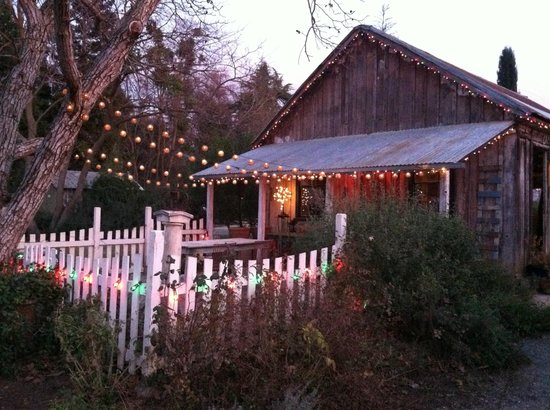 Park Winters: The old barn with a charming, old-world interior to explor
