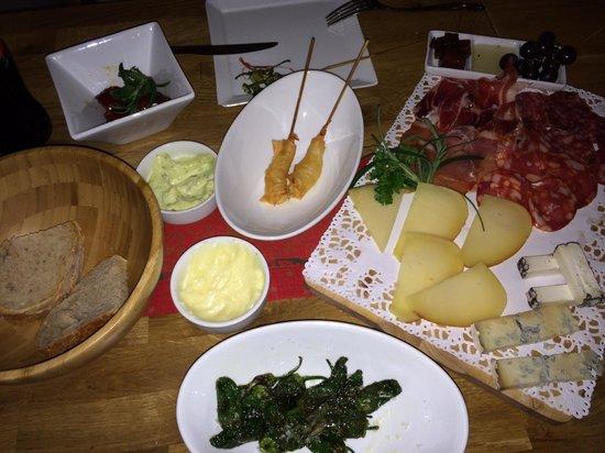 Hovik, Noruega: Excellent tapas - fresh ingredients