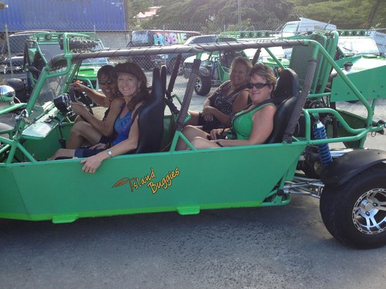 St. Lucia Rain Forest: Dune buggy for four!