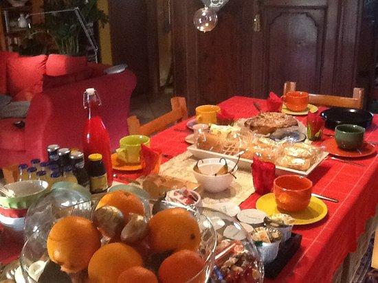 B&B Cosi Fan Tutte: Colazione natalizia