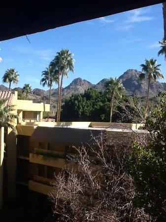 Pointe Hilton Squaw Peak Resort: view from 4th floor