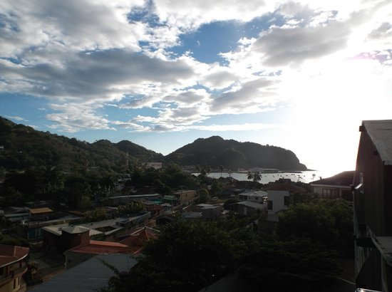 Hostel Maracuya: View from Terrace towards bay