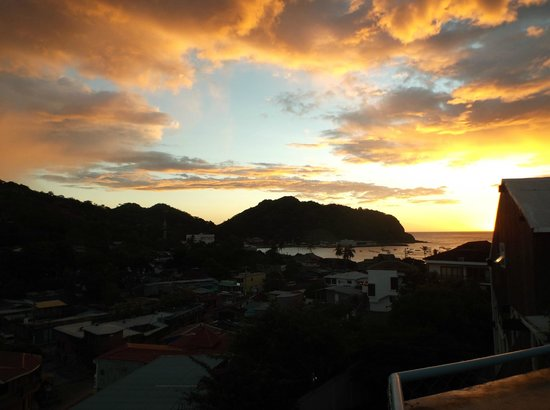 Hotel Maracuya: Sunset view from Terrace